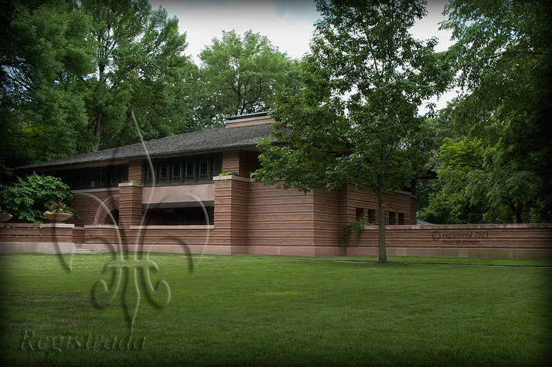 Frank Lloyd Wright's Heurtley House (1902), Oak Park