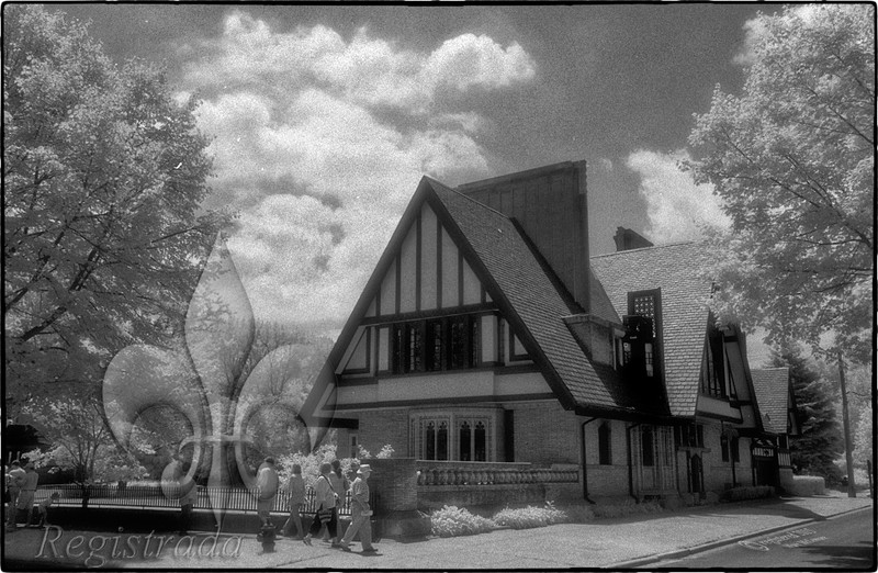 Frank Lloyd Wright's Moore House (1895/1922), Oak Park