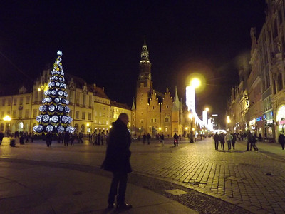 Wroclaw, Poland - December, 2013
