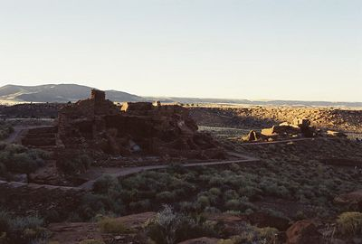11/13/99 Wupatki Pueblo (archaeological site of the Sinagua culture). Wupatki National Monument