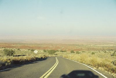 11/13/99 View of Painted Desert from Wupatki National Monument.