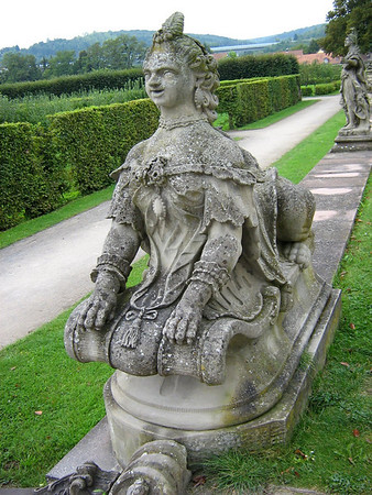 Statue at the Residenz Gardens
