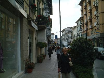 The streets of Montecatini 2