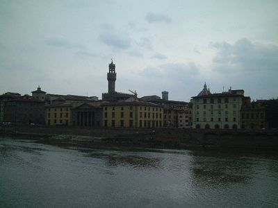 Florence across the Arno