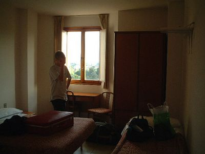 Tom's despair at our room