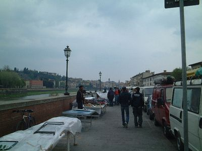 Arriving in Florence