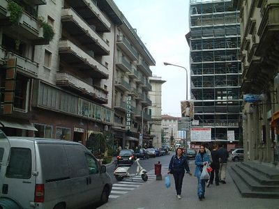 The streets of Montecatini
