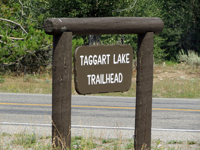 Taggart Lake Trailhead