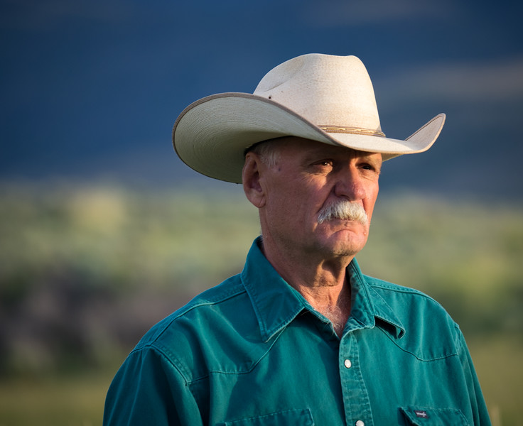 Local rancher, John Robinette.