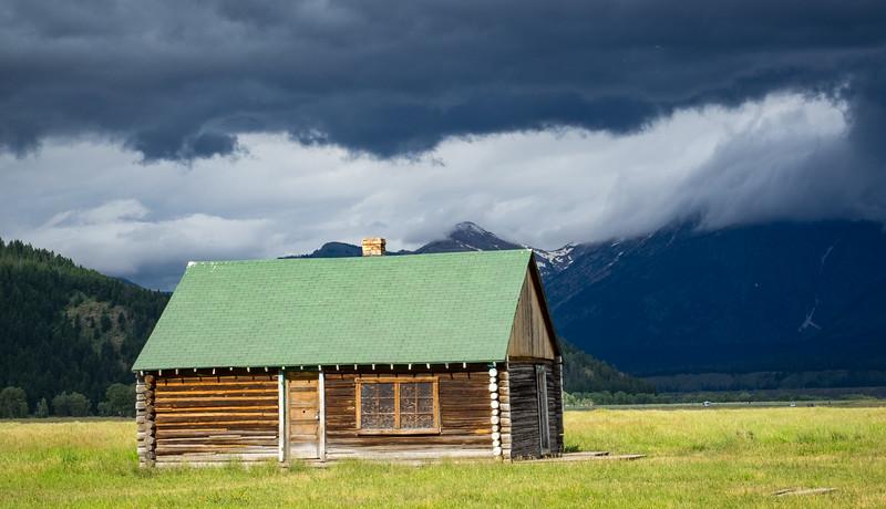 ...a small home near the barns
