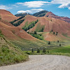 These Red Hills are actually located outside of the park in the Gros Ventre valley.