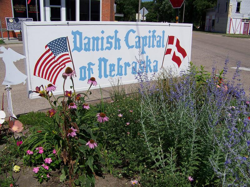 Dannebrog, NE is the Danish Capital of Nebraska.