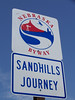 We drove much of Nebraska's Sandhills scenic route, which is Hwy. 2.
