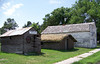 The historic jail--built in the 1880s--and a sod house in Anselmo, NE.