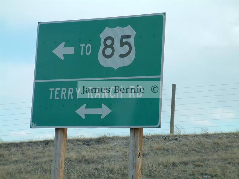Day trip, Colorado, Wyoming, Nebraska, April 2008