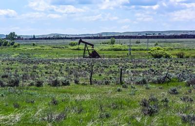 Oil Wells & Coal Trains