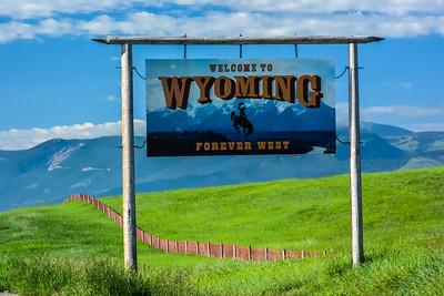 Wyoming - Montana Border