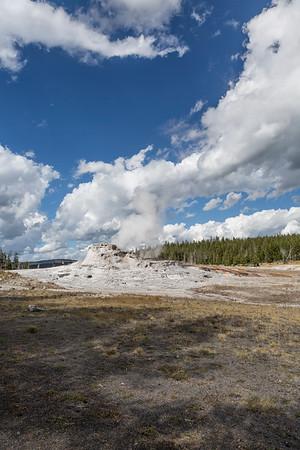 day two yellowstone  Geyser Basin