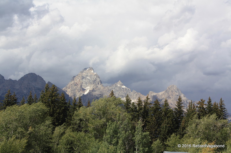 Grand Tetons Weather Rolling In