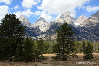 Grand Tetons - Teton Glacier (Right Valley)