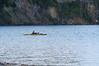 Yellowstone Vacation - Lake Yellowstone Area - Kayaker