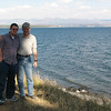 Ben and Randal - Lake Yellowstone is 135 Square Miles   - Yellowstone National Park  9-5-05