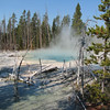 Beautiful Colors - Geyser  - Yellowstone National Park  9-5-05