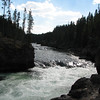 View from Brink to Upper River  - Yellowstone National Park  9-5-05