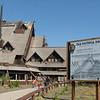 Old Faithful Inn Under Renovation  - Yellowstone National Park 9-6-05