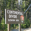 Continental Divide   - Yellowstone National Park  9-5-05