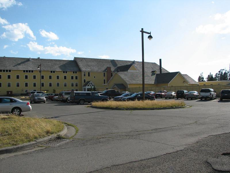 Right Wing - Lake Yellowstone Hotel   - Yellowstone National Park  9-5-05