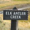 Elk Antler Creek Signage  - Yellowstone National Park  9-5-05