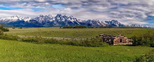 Panorama, Grand Tetons
