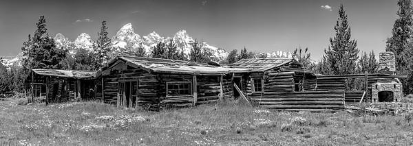Grand Tetons, abandoned