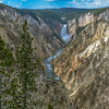 The Grand Canyon of the Yellowstone from Artist's Point.