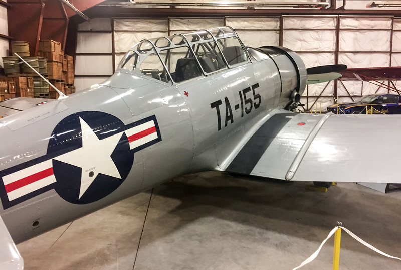 """When I arrived in Colorado Springs, I went to the """"National Museum of World War II Aviation"""".  This was a pretty cool place that included tons of old airplanes, most of which still actively flew (the museum was at the Colorado Springs airport).  There was active restoration happening so I got to see planes in various states of decay."""