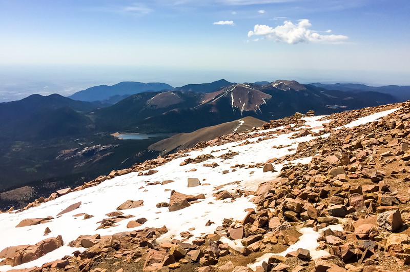 "I heard a dad tell his kid, ""Isn't it neat to be standing on the highest point in North America"".  I thought about correcting him (he's off by more than a mile - in fact, Pikes Peak is only the 31st tallest in Colorado), but I kept my mouth shut!"