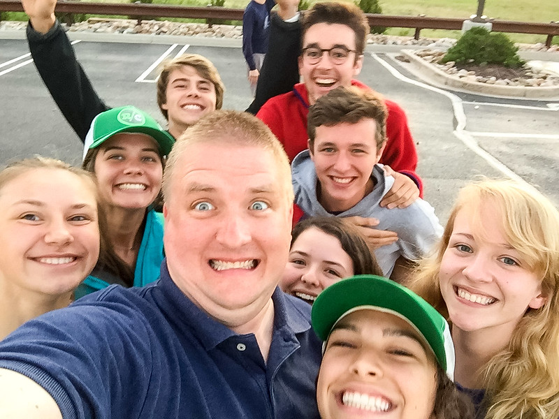 Ran into a group of my Physics All Stars (and Camille) as they were in town on a Colorado adventure!