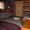 Two bedroom cabin at Colter Bay - was all they had left, but it was very cute