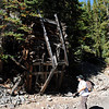 Wednesday, 9/15 - met my aunt Norie in Copper Mountain and hiked the Mayflower Gulch trail to the Boston Mine remains.  We had gorgeous fall weather!