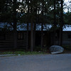 Outside of the 2BR cabin at Colter Bay