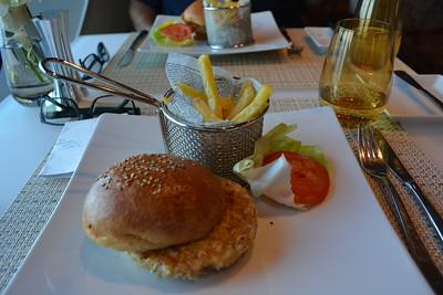 Veggie Burger & Truffle Fries