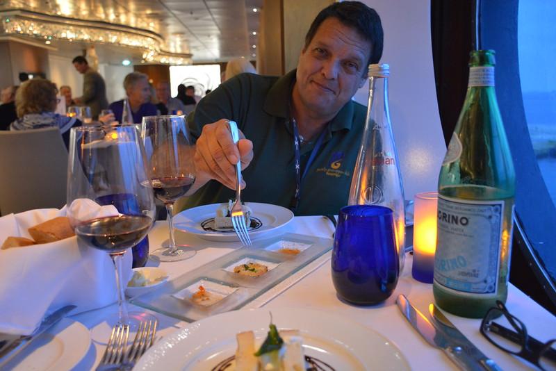 BLU Restaurant - Oct 21, 2016