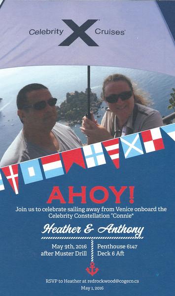 Sail Away Invitation to Cruise Critic Cabin Crawl Hosts