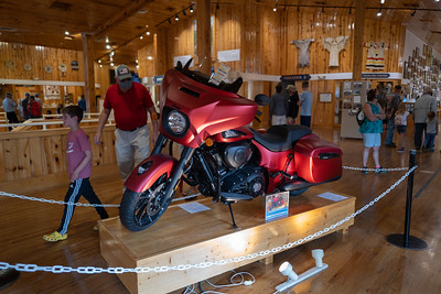 Indian Motorcycle raffle.  I entered.  I would absolutely LOVE to have this bike!