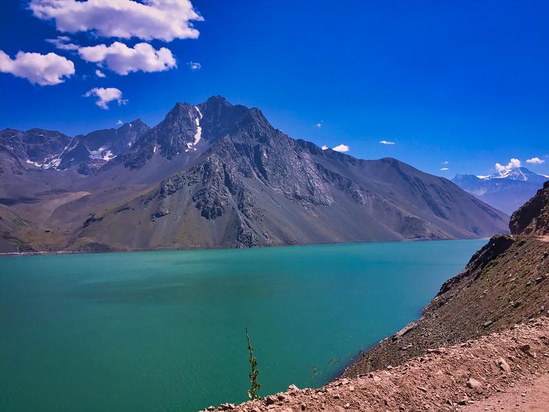 El Yeso Reservoir, Chile