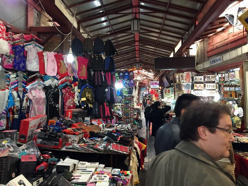 Souvenir shops in the Muslim Street