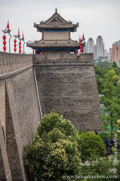 Xian City Wall and Guard Tower