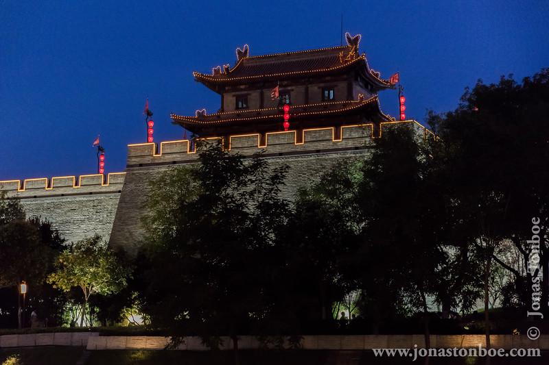 Xian City Wall Giard Tower