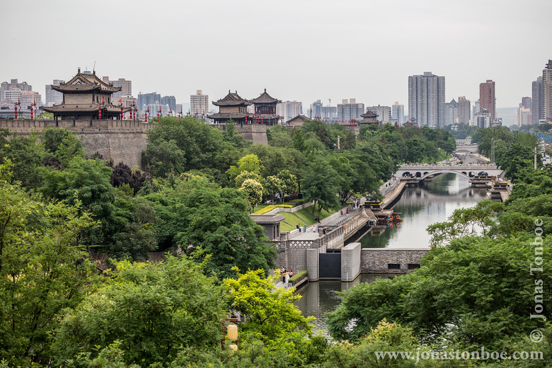 Xian City Wall and Moat